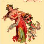 Postkarte Hofcafé Frühjahrsmarkt 2004