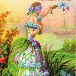 Postkarte Hofcafé Frühjahrsmarkt 2005