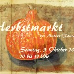 Postkarte Hofcafé Herbstmarkt 2011