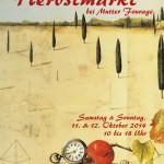 Postkarte Hofcafé Herbstmarkt 2014