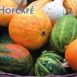 Postkarte Hofcafé Kürbis