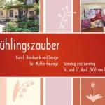 Postkarte Frühlingszauber 2016 bei Mutter Fourage