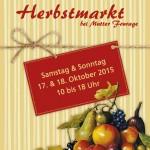 Postkarte Hofcafé Herbstmarkt 2015