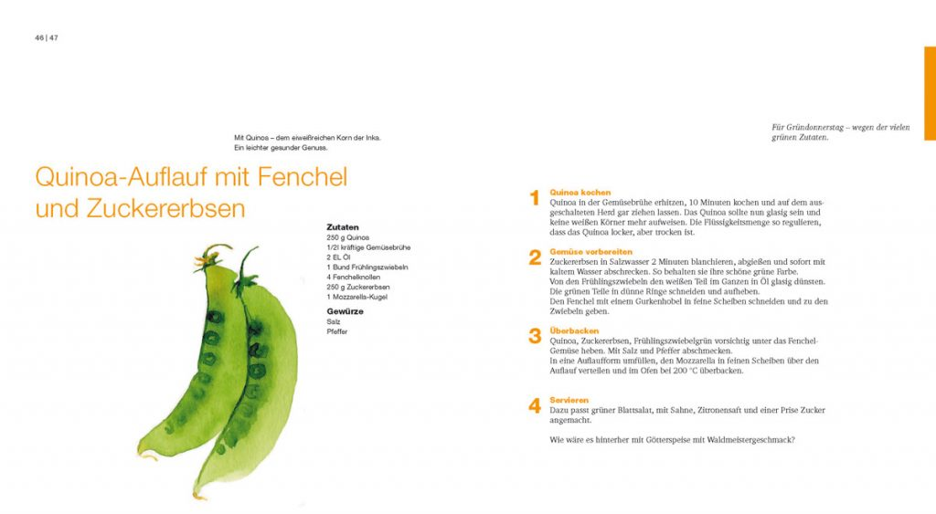 Leseprobe Quinoa-Auflauf Kochbuch Frühling