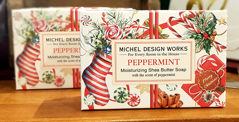 Slider Michel Design Works Seife Peppermint Weihnachten