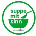 Suppe mit Löffel
